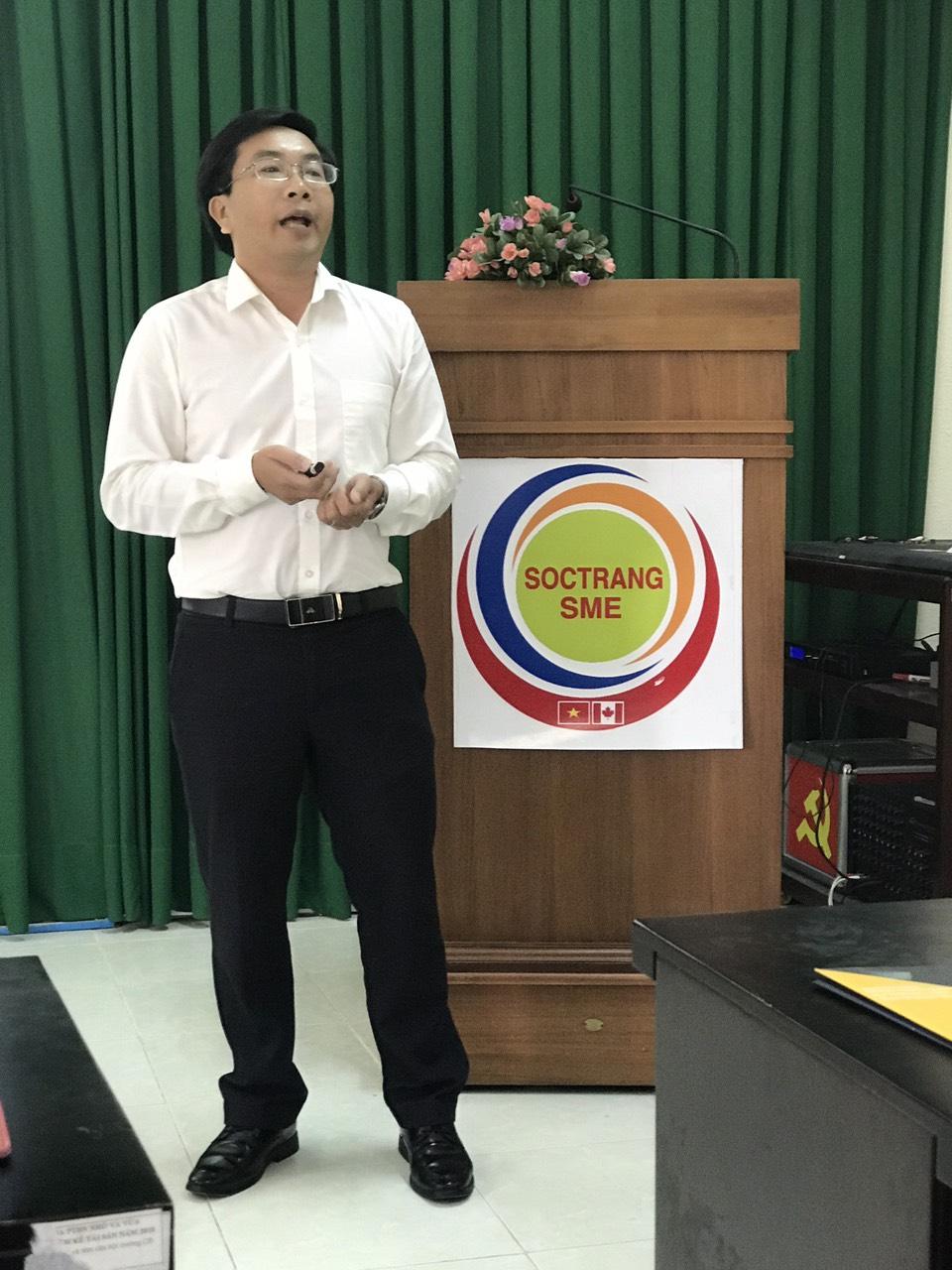 """Hiệp hội Doanh nghiệp tỉnh Sóc Trăng Tổ chức Chương trình """"Cà phê kết nối"""" ngày 27/11/2020"""